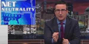 John Oliver and Net Neutrality