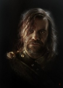 The Hound Painting 214x300