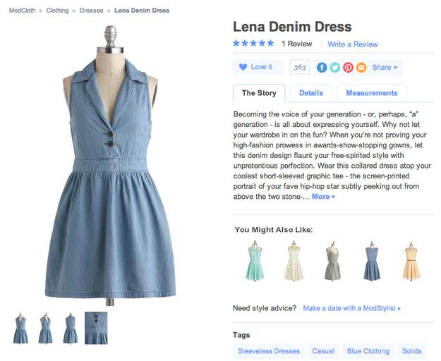 Lena-Denhim-Dress