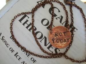 Not Today Necklace by Christy Olson