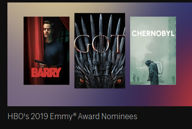 HBO2019EmmyNomineesCollection